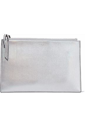 IRO Iridescent leather pouch