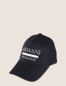 ARMANI EXCHANGE VINTAGE LOGO HAT Hat Man f
