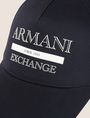 ARMANI EXCHANGE VINTAGE LOGO HAT Hat Man d