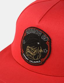 ARMANI EXCHANGE BULLDOG PATCH HAT Hat Man d