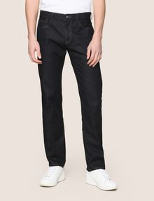 ARMANI EXCHANGE CLASSIC SLIM-FIT DARK INDIGO JEANS Slim fit JEANS Man f
