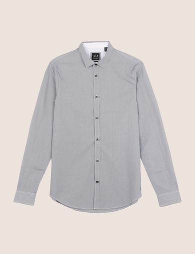SLIM-FIT YARN DYE SHIRT