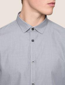 ARMANI EXCHANGE SLIM-FIT YARN DYE SHIRT Long sleeve shirt Man b
