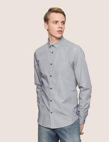 ARMANI EXCHANGE SLIM-FIT YARN DYE SHIRT Long sleeve shirt Man f