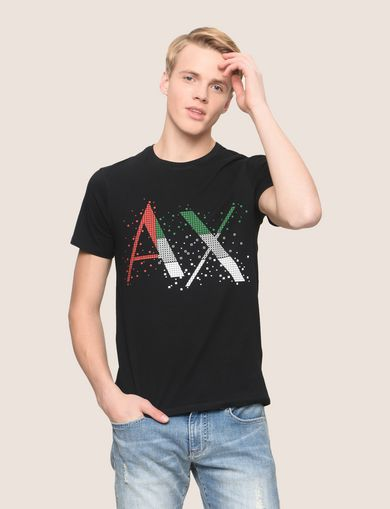 PIXELATED PATCHWORK LOGO TEE