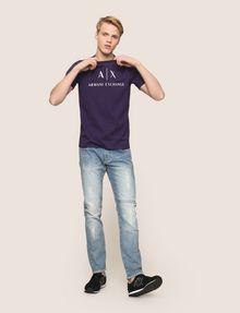 ARMANI EXCHANGE CLASSIC LOGO CREWNECK TEE Logo T-shirt Man d