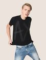 ARMANI EXCHANGE ETCHED LOGO TEE Logo T-shirt Man a