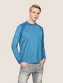 ARMANI EXCHANGE TONAL LOGO ZIP SWEATSHIRT Fleece Top Man f