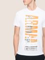 ARMANI EXCHANGE VERTICAL CITY CREWNECK Logo T-shirt Man b