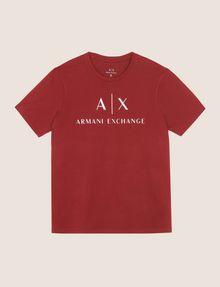 ARMANI EXCHANGE CLASSIC LOGO CREWNECK TEE Logo T-shirt Man r
