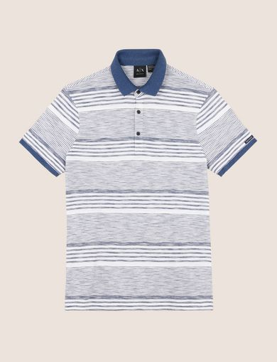 MULTI-STRIPE POLO SHIRT