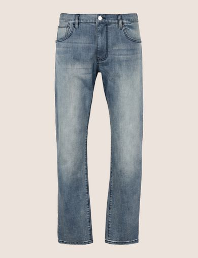 CLASSIC RELAXED STRAIGHT MID-INDIGO JEANS