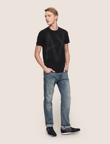 ARMANI EXCHANGE CLASSIC RELAXED STRAIGHT MID-INDIGO JEANS STRAIGHT FIT JEANS Man d
