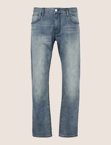 ARMANI EXCHANGE CLASSIC RELAXED STRAIGHT MID-INDIGO JEANS STRAIGHT FIT JEANS Man r