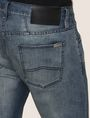 ARMANI EXCHANGE CLASSIC RELAXED STRAIGHT MID-INDIGO JEANS STRAIGHT FIT JEANS Man b