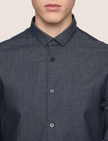 ARMANI EXCHANGE SLIM-FIT INDIGO DENIM SHIRT Long sleeve shirt Man b