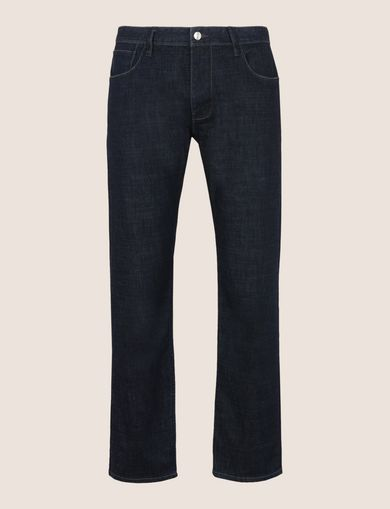 CLASSIC RELAXED STRAIGHT INDIGO JEANS