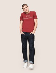 ARMANI EXCHANGE CLASSIC RELAXED STRAIGHT INDIGO JEANS STRAIGHT FIT JEANS [*** pickupInStoreShippingNotGuaranteed_info ***] d