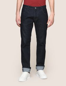 ARMANI EXCHANGE CLASSIC RELAXED STRAIGHT INDIGO JEANS STRAIGHT FIT JEANS [*** pickupInStoreShippingNotGuaranteed_info ***] f