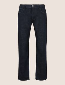 ARMANI EXCHANGE CLASSIC RELAXED STRAIGHT INDIGO JEANS STRAIGHT FIT JEANS [*** pickupInStoreShippingNotGuaranteed_info ***] r