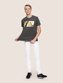 ARMANI EXCHANGE SKINNY DESTROYED AND REPAIRED JEANS Skinny jeans Man d