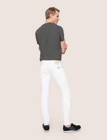 ARMANI EXCHANGE SKINNY DESTROYED AND REPAIRED JEANS Skinny jeans Man e