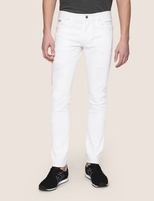 ARMANI EXCHANGE SKINNY DESTROYED AND REPAIRED JEANS Skinny jeans Man f