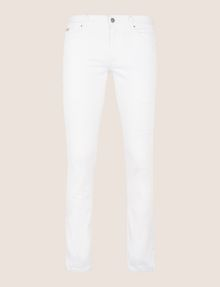 ARMANI EXCHANGE SKINNY DESTROYED AND REPAIRED JEANS Skinny jeans Man r