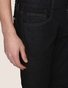 ARMANI EXCHANGE CLASSIC STRAIGHT-LEG DARK INDIGO JEANS STRAIGHT FIT JEANS Man b