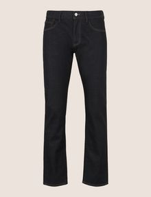ARMANI EXCHANGE CLASSIC STRAIGHT-LEG DARK INDIGO JEANS STRAIGHT FIT JEANS Man r
