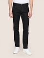 ARMANI EXCHANGE CLASSIC STRAIGHT-LEG DARK INDIGO JEANS STRAIGHT FIT JEANS Man f