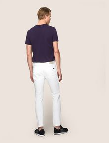 ARMANI EXCHANGE SLIM-FIT DESTROYED AND REPAIRED JEANS Slim fit JEANS Man e