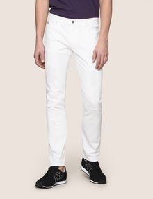 ARMANI EXCHANGE SLIM-FIT DESTROYED AND REPAIRED JEANS Slim fit JEANS Man f