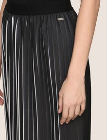 ARMANI EXCHANGE BICOLOR PLEAT MIDI SKIRT Midi Skirt Woman b