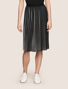 ARMANI EXCHANGE BICOLOR PLEAT MIDI SKIRT Midi Skirt Woman f