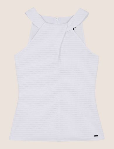 ARMANI EXCHANGE S/L Knit Top Woman R
