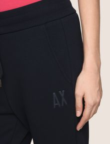 ARMANI EXCHANGE PUFF LOGO SWEATPANTS Pant Woman b