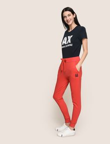 ARMANI EXCHANGE PUFF LOGO SWEATPANTS Pant Woman a