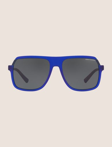 BICOLOR SQUARE SUNGLASSES