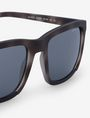 ARMANI EXCHANGE LIGHT TORTOISE RETRO SUNGLASSES Sunglass Man e