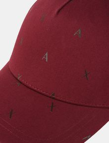 ARMANI EXCHANGE SCATTERED LOGO HAT Hat [*** pickupInStoreShippingNotGuaranteed_info ***] d