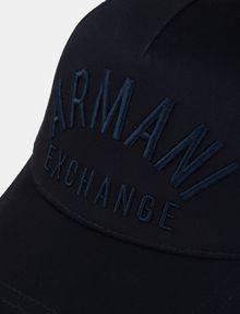 ARMANI EXCHANGE ARC EMBROIDERY LOGO HAT Hat Man d