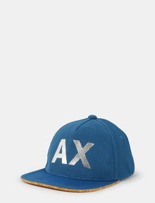 ARMANI EXCHANGE MESH REFLECTIVE LOGO HAT Hat Man f