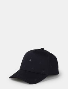 ARMANI EXCHANGE SCATTERED LOGO HAT Hat [*** pickupInStoreShippingNotGuaranteed_info ***] f