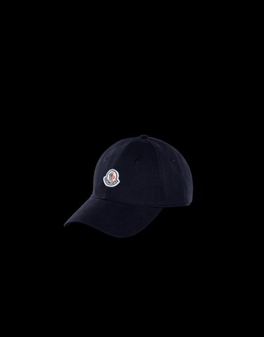 BASEBALL HAT Dark blue Hats Man