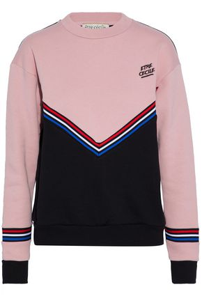 ÊTRE CÉCILE Embroidered cotton sweatshirt