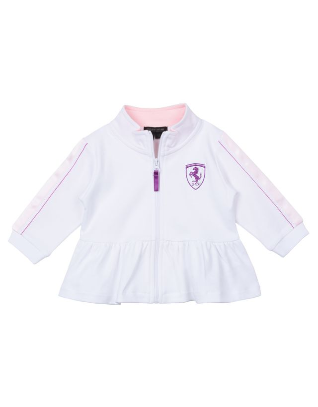 Scuderia Ferrari Online Store - Baby long-sleeve sweater - Zip Sweaters