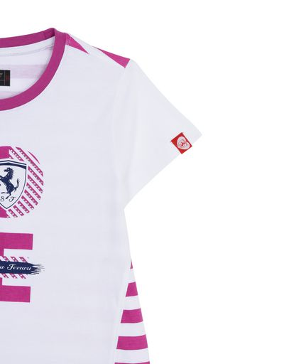 "Scuderia Ferrari Online Store - T-shirt for girls with ""Love Scuderia Ferrari"" -"