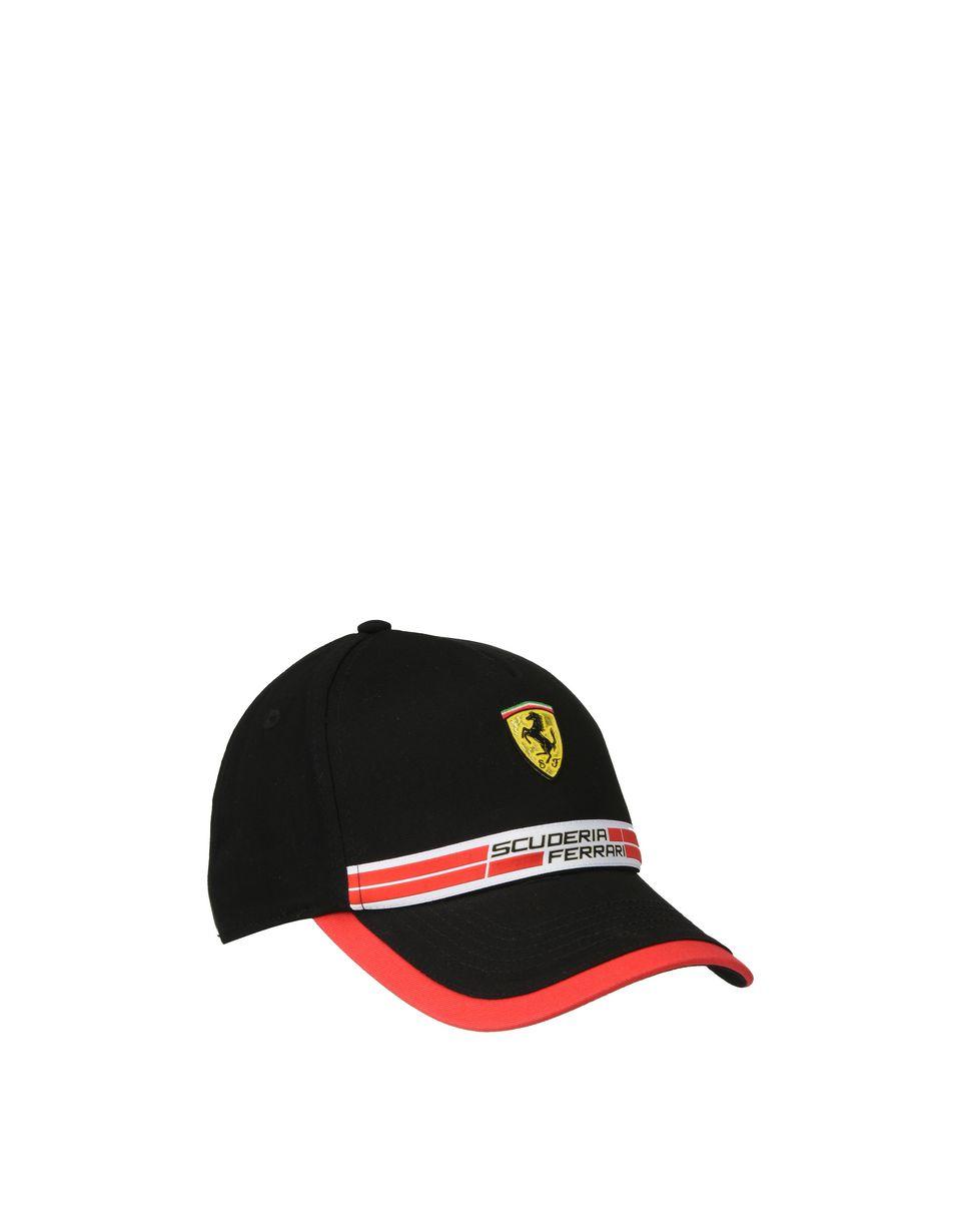 Scuderia Ferrari Online Store - Casquette Scuderia Ferrari avec Icon Tape - Baseball Caps