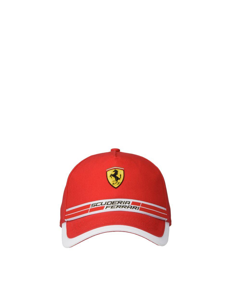 Scuderia Ferrari Online Store - Cappellino Scuderia Ferrari con icon tape - Cappellini da Baseball